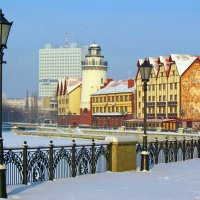 Зимняя набережная :: Сергей Карачин
