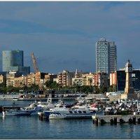 В порту Барселоны :: Leonid Korenfeld