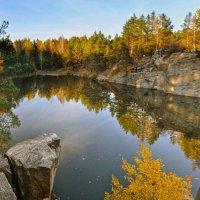 Озеро в Житомирской области... :: Андрей Зелёный