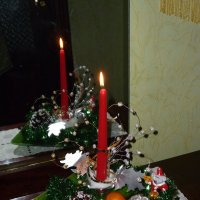 У зеркала свеча горела. :: шубнякова