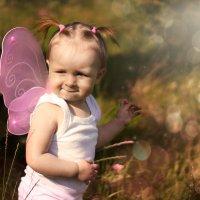 Хитрая бабочка :: Олеся Тихомирова