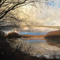 Скоро Новый год, а на реке - апрель. :: Александр Крупский