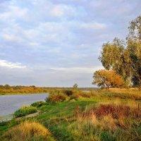 Осенняя  река. :: Валера39 Василевский.