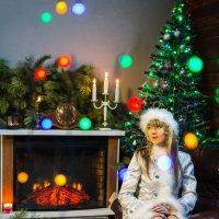 Снегурка притомилась... :: Сергей Смоляков