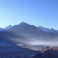 Туман над аулом :: Константин Снежин