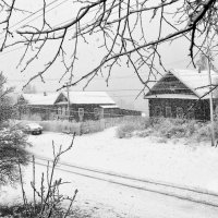 А снег все падал и падал... :: Екатерина Артамонова