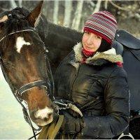 Юная наездница :: Дмитрий Конев