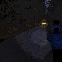 Вечерняя дорога... :: АЛЛА Смирнова