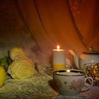 Свечка с ванильным ароматом :: Наталия Лыкова