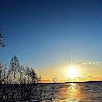 Зимний вечер :: Валентина Пирогова
