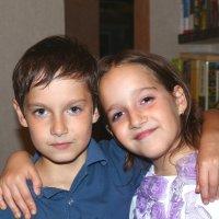 Братик и сестричка :: Сергей Касимов