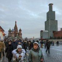 Спасская башня 2014/15 :: Алексей Окунеев