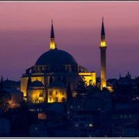 Стамбул. Закатное :: Михаил Розенберг