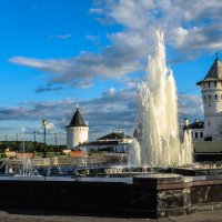 Тобольск. Фонтан перед Тобольским кремлем :: Марк