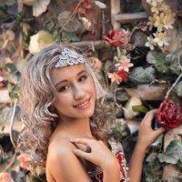 Девушка с цветами :: Андрей Малинин