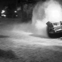 ...снегоуборочный хулиган :: Сергей Андрейчук