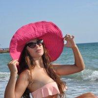 На пляже. :: ОЛЕГ ПАНКОВ