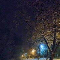 Феерия подсвеченных снегов :: Алексей Соколов