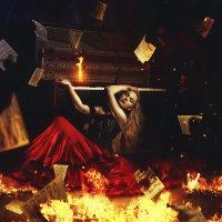 Огненная стихия :: Фотохудожник Наталья Смирнова