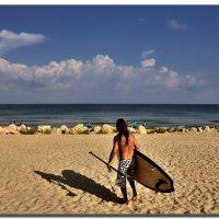 Песок, море, солнце. :: Leonid Korenfeld