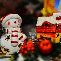 Снеговичок... :: Ирина Малинина