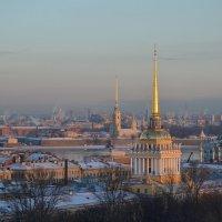 Шпили над городом :: Наталья Левина