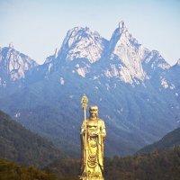 В горах Цзю Хуашань :: Екатерина Цзян