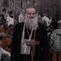 Протоиерей Роман Барановский или просто хороший человек «Израиль, всё о религии...» :: Shmual Hava Retro