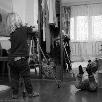 Юный фотограф. :: Larisa Gavlovskaya