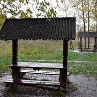 Беседки под дождём :: Михаил Михальчук