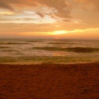 Закат в океане :: grovs