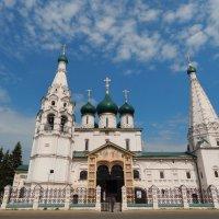 Церковь Ильи Пророка (XVII в) :: Елена Токина