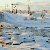 Река около моста. :: Александр Максименко