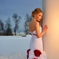 Красное на белом :: Sergey Ysir