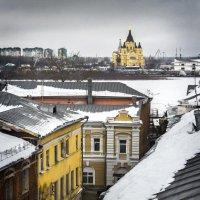 Вид со Скобы на Стрелку :: Игорь Гришанин
