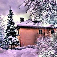 Зима пригла в мой город . :: Алла Мещерякова