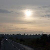 дорога на закате :: Виктор Калашников