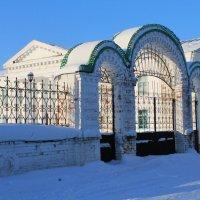 Ограда краеведческого музея г. Оса :: Егор Егоров