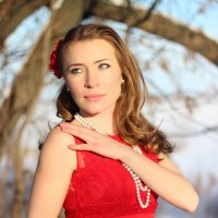 Lady in Red :: Александр Гудзь
