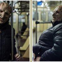 Крюгер в метро :: Shoni Karabin