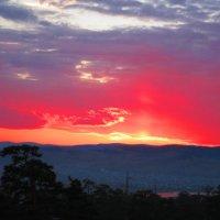 дачный закат :: Генка Гаврилин