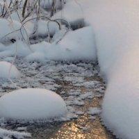 Замерзший ручей :: Aleksandr Ir