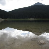Черное озеро... :: Вера Павловская