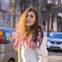 солнечный портрет :: Юлия Трибунская