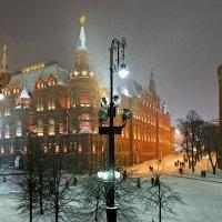 снег на манежной :: Константин Кокошкин