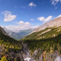 Над каньоном Перевальной :: Виктор Никитин