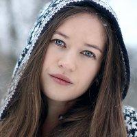 Снежный портрет :: Полина Новикова