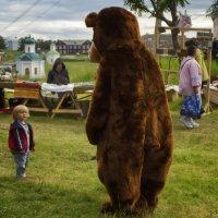Маша и медведь :: Александр Бобрецов
