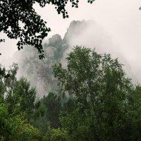 Такмак в тумане :: Александр Иванов