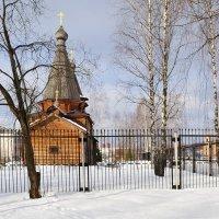 Зимой в городке :: Анатолий Тимофеев